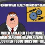 email send time optimization is bullshit