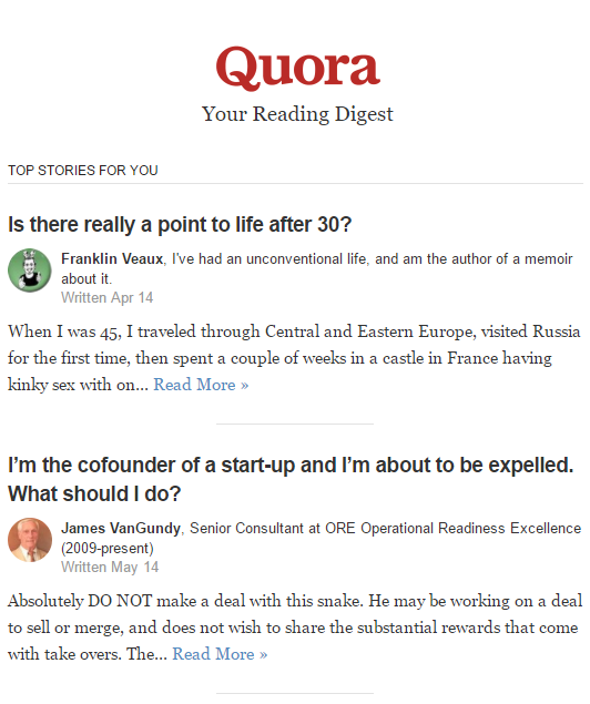 quora header first answers