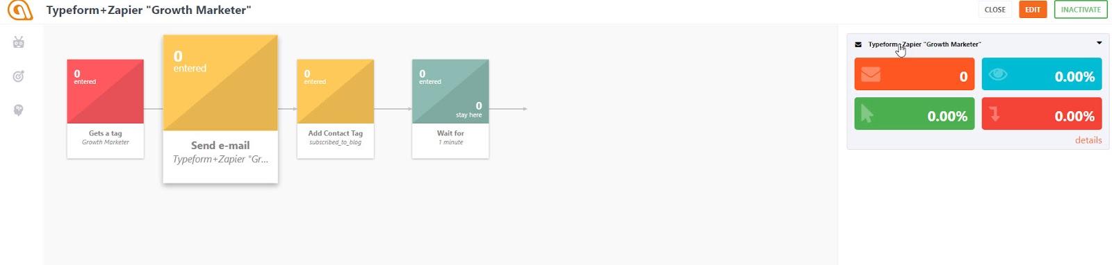 Typeform workflow