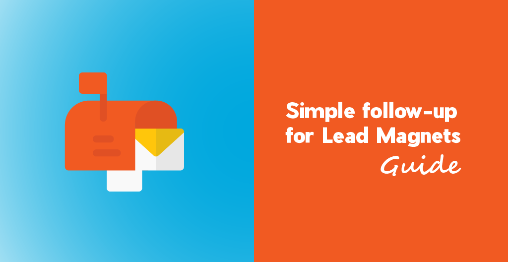 Lead magnet email follow up