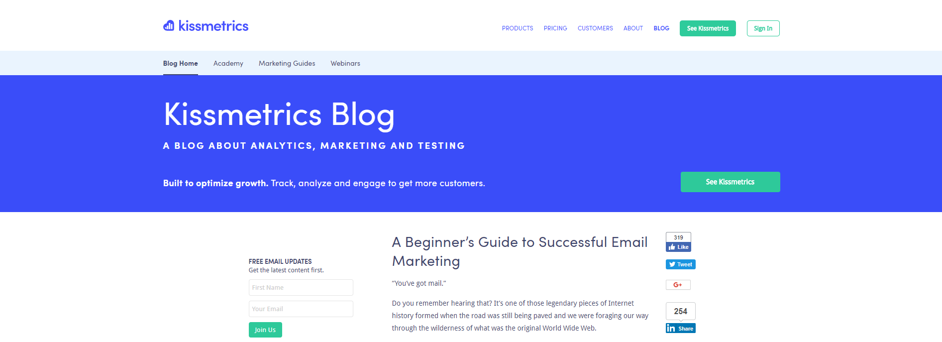 a beginners guide to successful email marketing