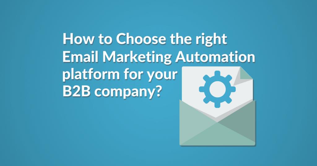email marketing automation platform for b2b company