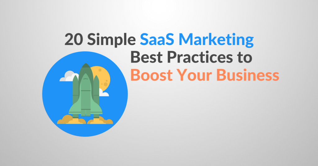 saas marketing best practices
