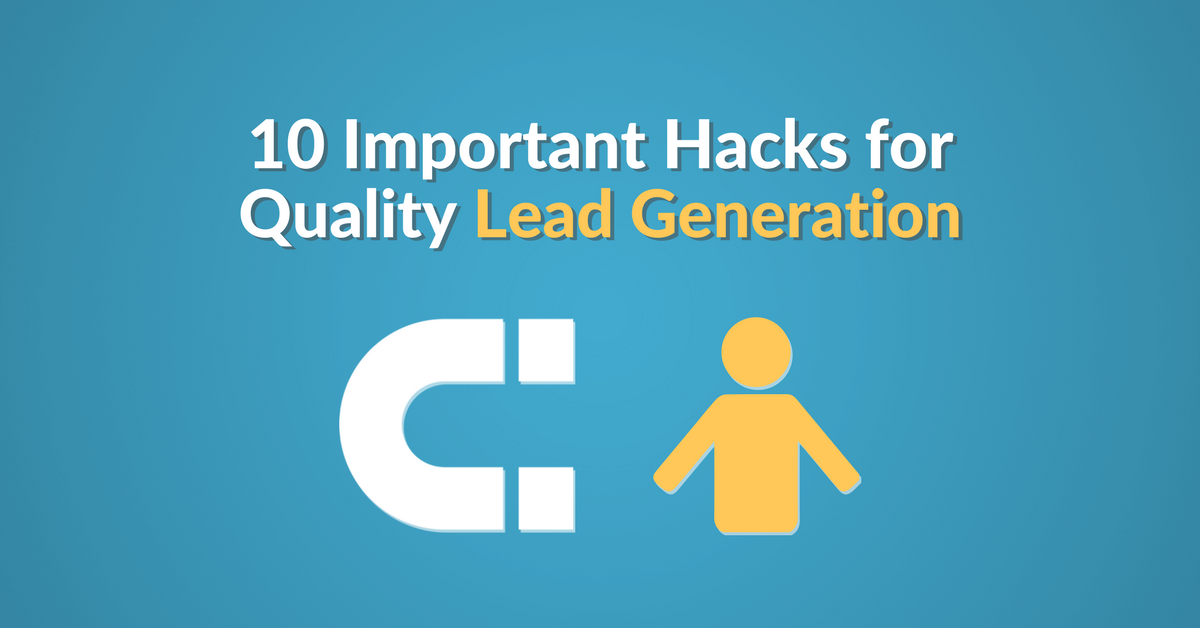 hacks for quality lead generation