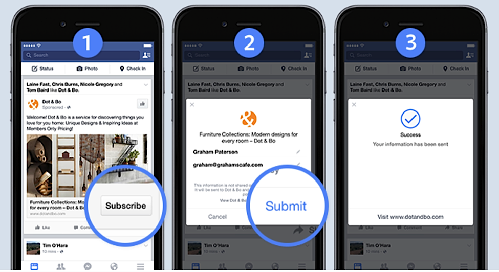 Use Lead Ads for effective lead generation on Facebook