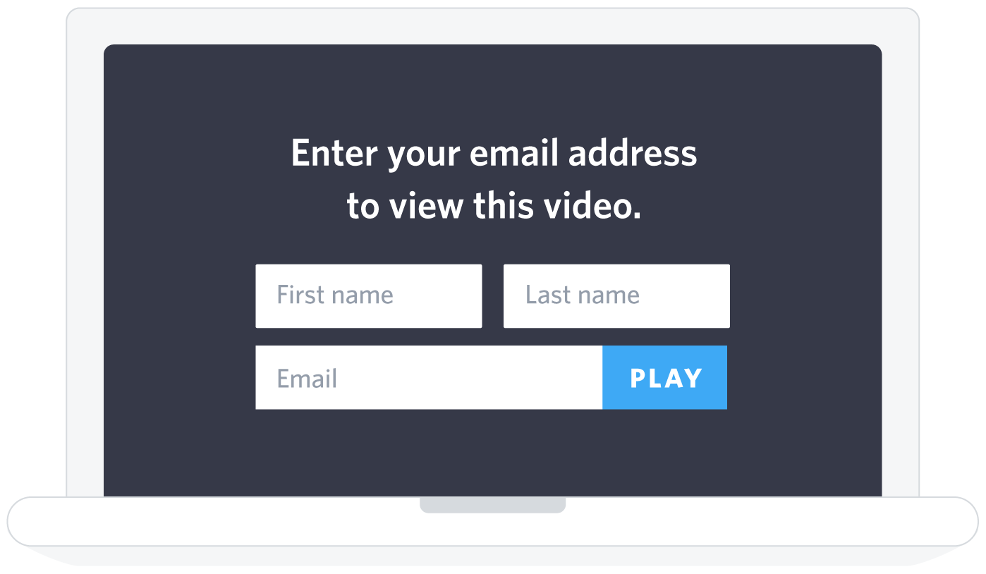 Stop your videos and ask for contact info from the viewer with Wistia Turnstile