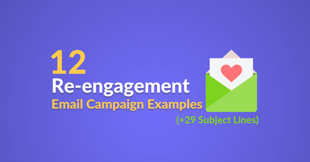 Re-engagement campaign examples featured image
