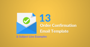 13 Order Confirmation Email Template & Subject Line Examples Automizy featured image of blog post