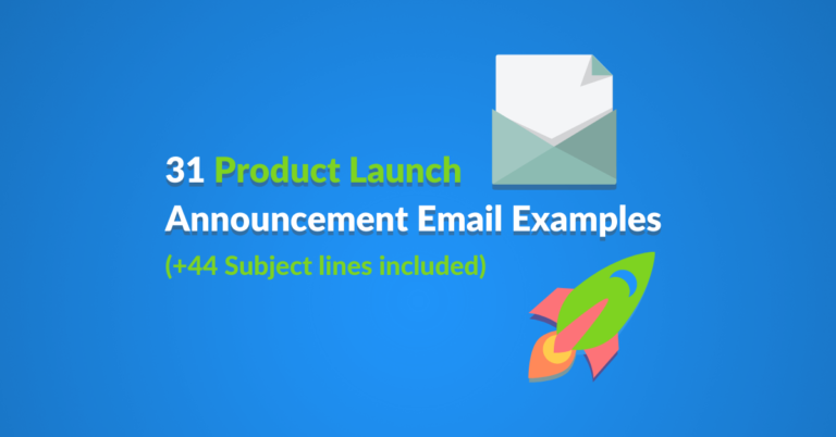 31 Product Launch Announcement Email Examples featured image