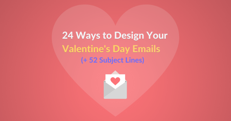 19 Ways to Design Your Valentine's Day Emails featured image