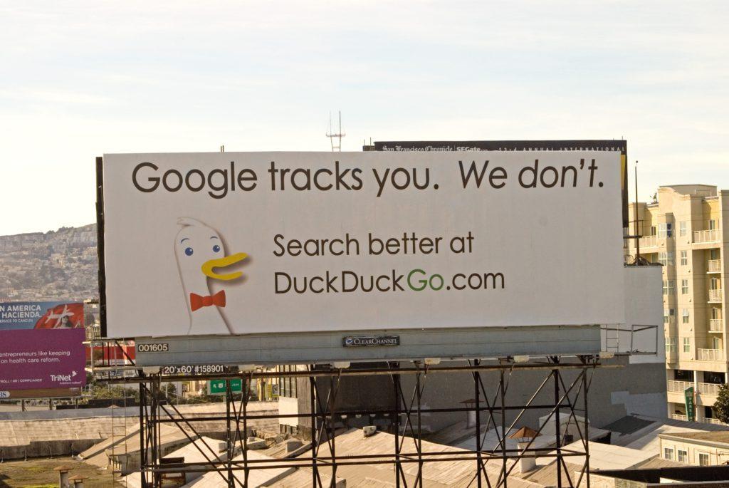 DuckDuckGo SaaS marketing PR campaign