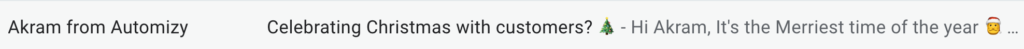 Using emoji in email subject lines to make it stand out in inboxes