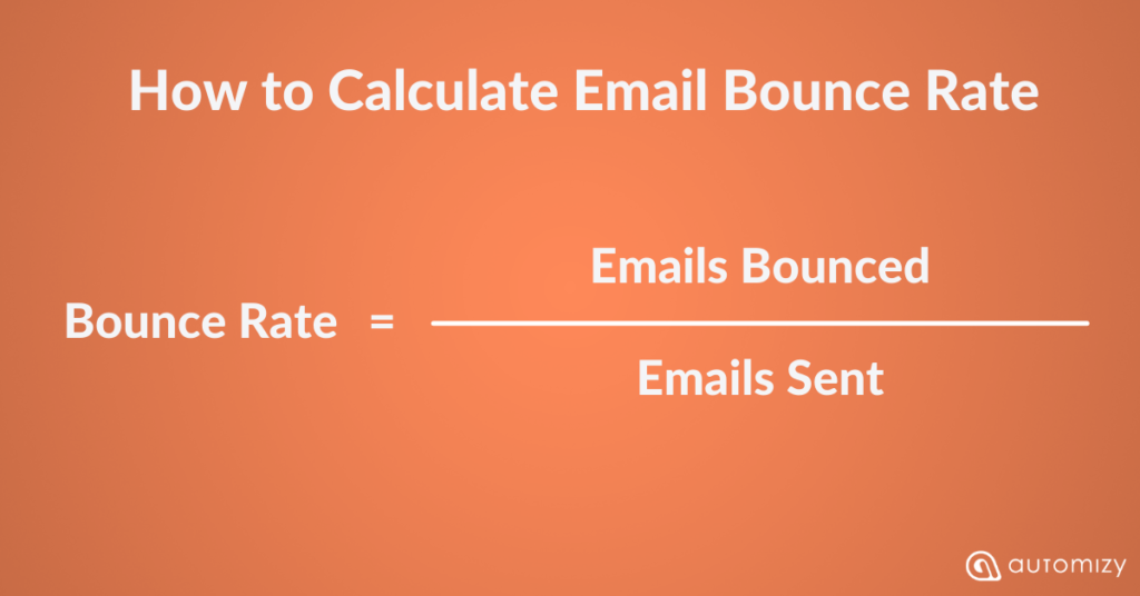 How to calculate email bounce rate as an email marketing metric