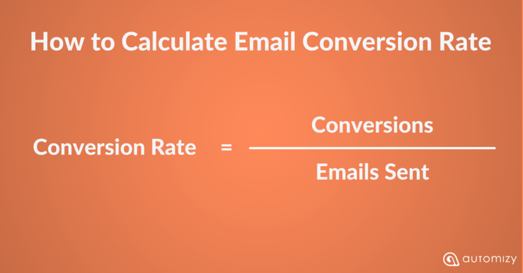 How to measure your email marketing conversion rate