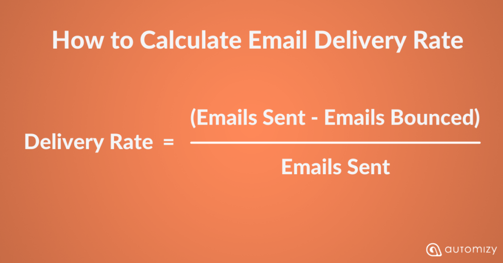 how to calculate email deliverability rate to understand your email marketing KPIs