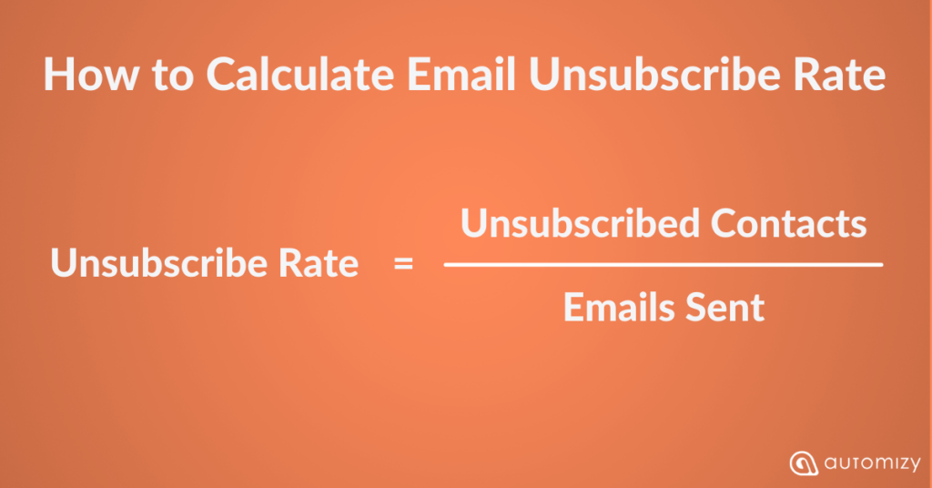 How to Calculate Email Unsubscribe Rate