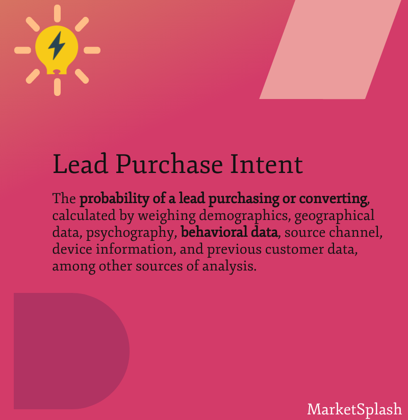Lead purchase for B2B businesses