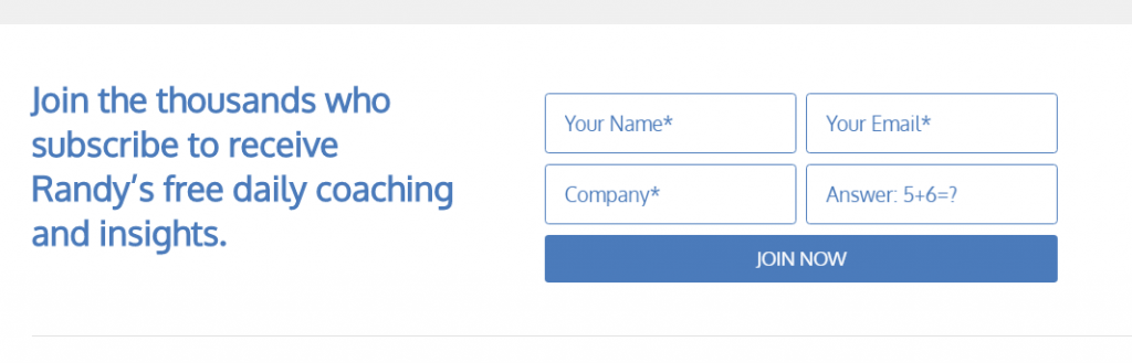 information collecting form example