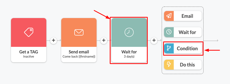 Add wait period after re-engagement email