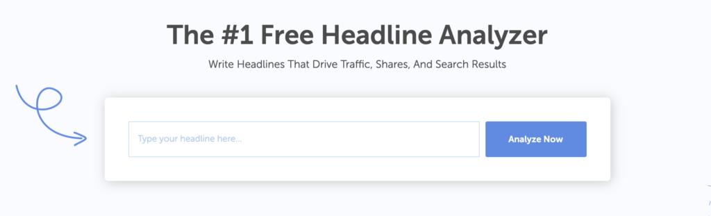 How to write better titles using Headline Analyzer