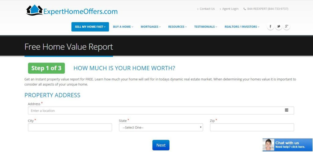 real estate contact form to grow realtors email list